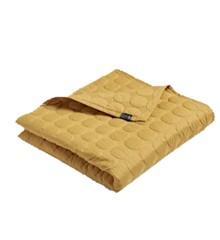 HAY - Mega Dot sengetæppe 235 x 245 cm - Sennep