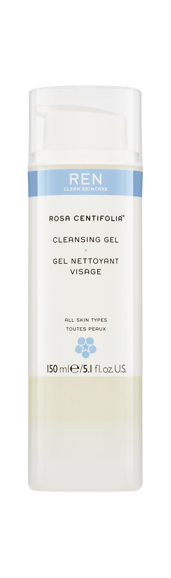 REN - Rosa Centifolia Cleansing Gel 150 ml