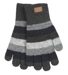 Melton - Wool Gloves - Stripes