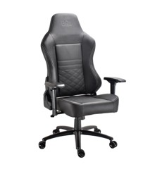 DON ONE - Luciano Gaming Chair Black/White stiches