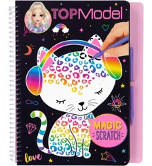 Top Model - Magic Scratch Book