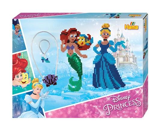 hama beads - midi - gift box - disney princess (7948)