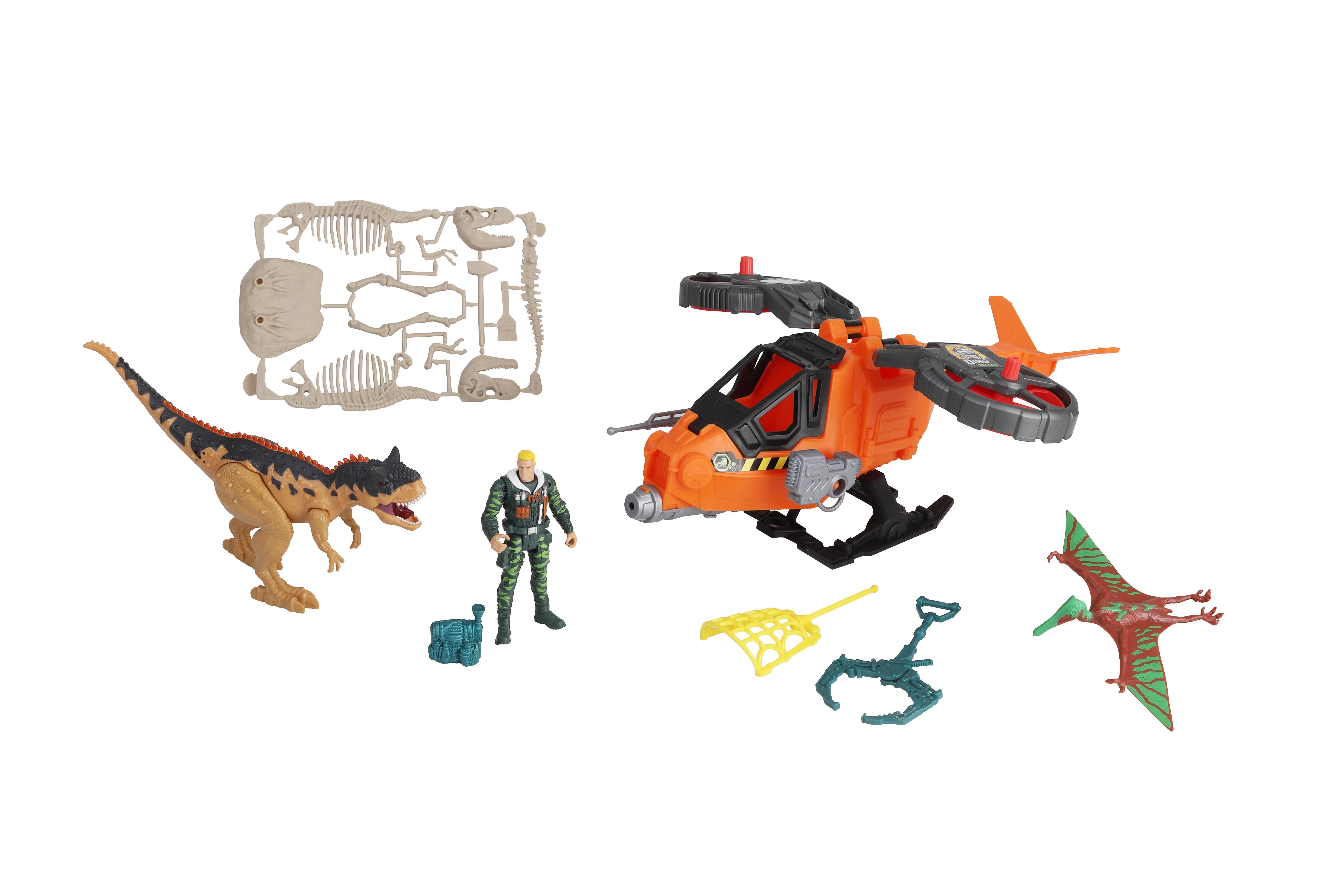 Dino Valley - Steel Hawk Rescue Playset (542089)