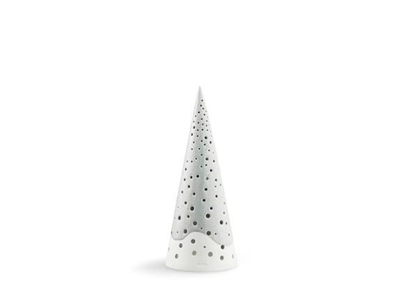 Kähler - Nobili Candle Holder Medium - Grey (692444)