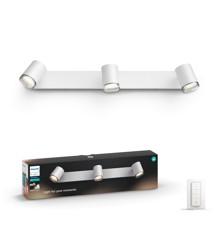 Philips - Hue White Ambiance Adore 3-Spot Til Badeværelse