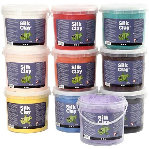 Silk Clay - Värilajtelma - 10x650g