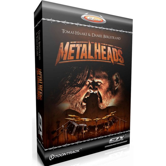 Toontrack - EZX Metalheads - Expansion Pack For EZdrummer (DOWNLOAD)
