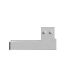 Nichba-Design - Toilet Paper Holder - White (L100101W)