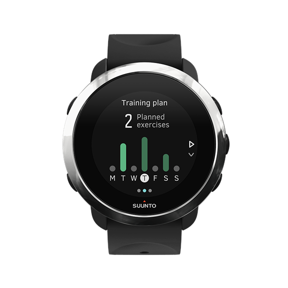 Suunto - 3 Fitness Watch Black