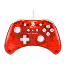 PDP Rock Candy Wired Mini Switch Controller (Stormin-Cherry)