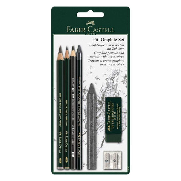Faber-Castell - PITT Graphite Master sæt (112997)