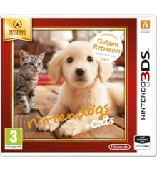 Nintendogs and Cats 3D: Golden Retriever (Select)