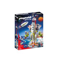 Playmobil - Mars-raket med affyringsrampe (9488)