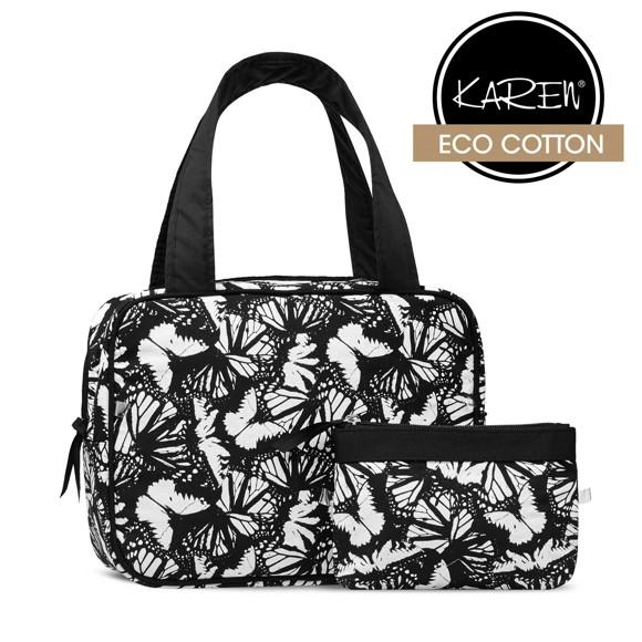 Karen - 2 Piece Set w. Black/White Print