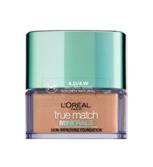 L'Oréal - True Match Minerals Powder Foundation SPF 19 - 4W Naturel Dore