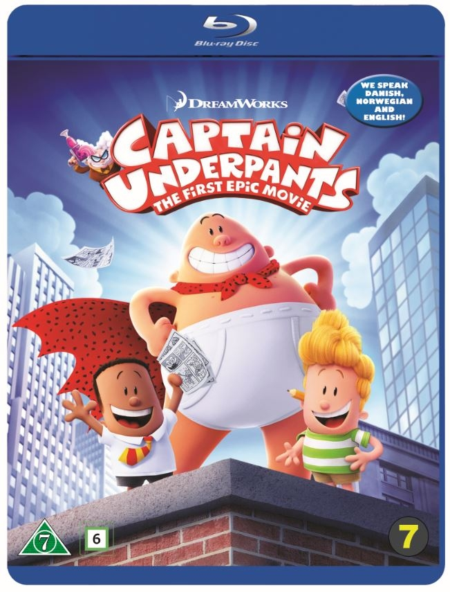 Buy Captain Underpants The First Epic Movie Blu Ray Standard Blu Ray Incl Shipping