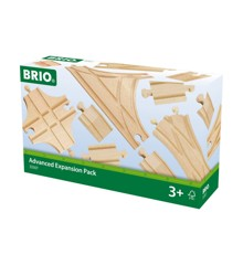 BRIO - Skinnesæt, 11 dele (33307)