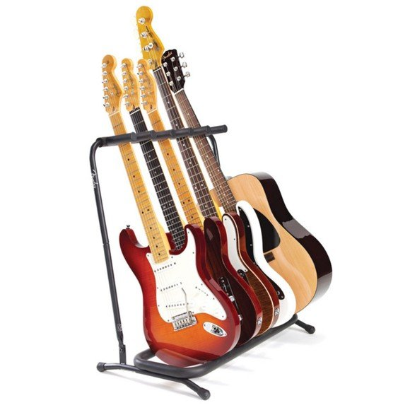 Fender - Multi-Stand 5 - Multiple Stand For Guitar/Bass