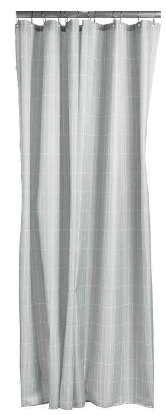 Zone Denmark - Tiles Shower Curtain 200 x 180 cm - Eucalyptus Green (331840)