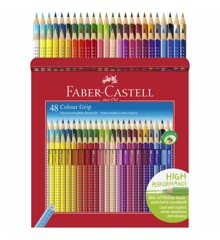 Faber-Castell - Colour Grip Buntstift, 48er Kartonetui (112449)