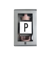 Design Letters - Grow With Your Cup Gaveæske P - Pink