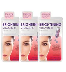 Skin Republic - 3x Brightening Vitamin C Face Sheet Mask