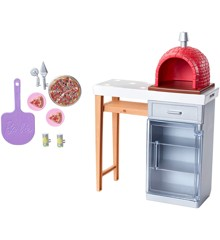 Barbie - Outdoor Furniture - Brick Pizza Oven (FXG39)