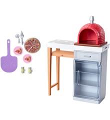 Barbie - Udendørs Møbler - Pizza Sten Ovn (FXG39)