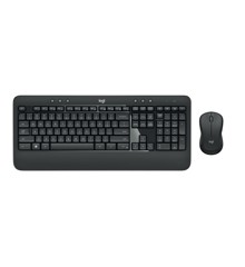Logitech - MK540 ADVANCED Wireless Keyboard og Mus sæt - Nordic