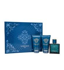 Versace - Eros - 50 ml Edt + 50 ml Shower gel + 50 ml AS balm - Giftset