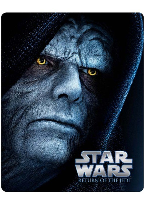 Star Wars, Episode VI: Return of the Jedi/Stjernekrigen VI: Jediridderen vender tilbage (Blu-Ray)