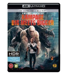 Rampage (Dwayne Johnson)(4K Blu-Ray)