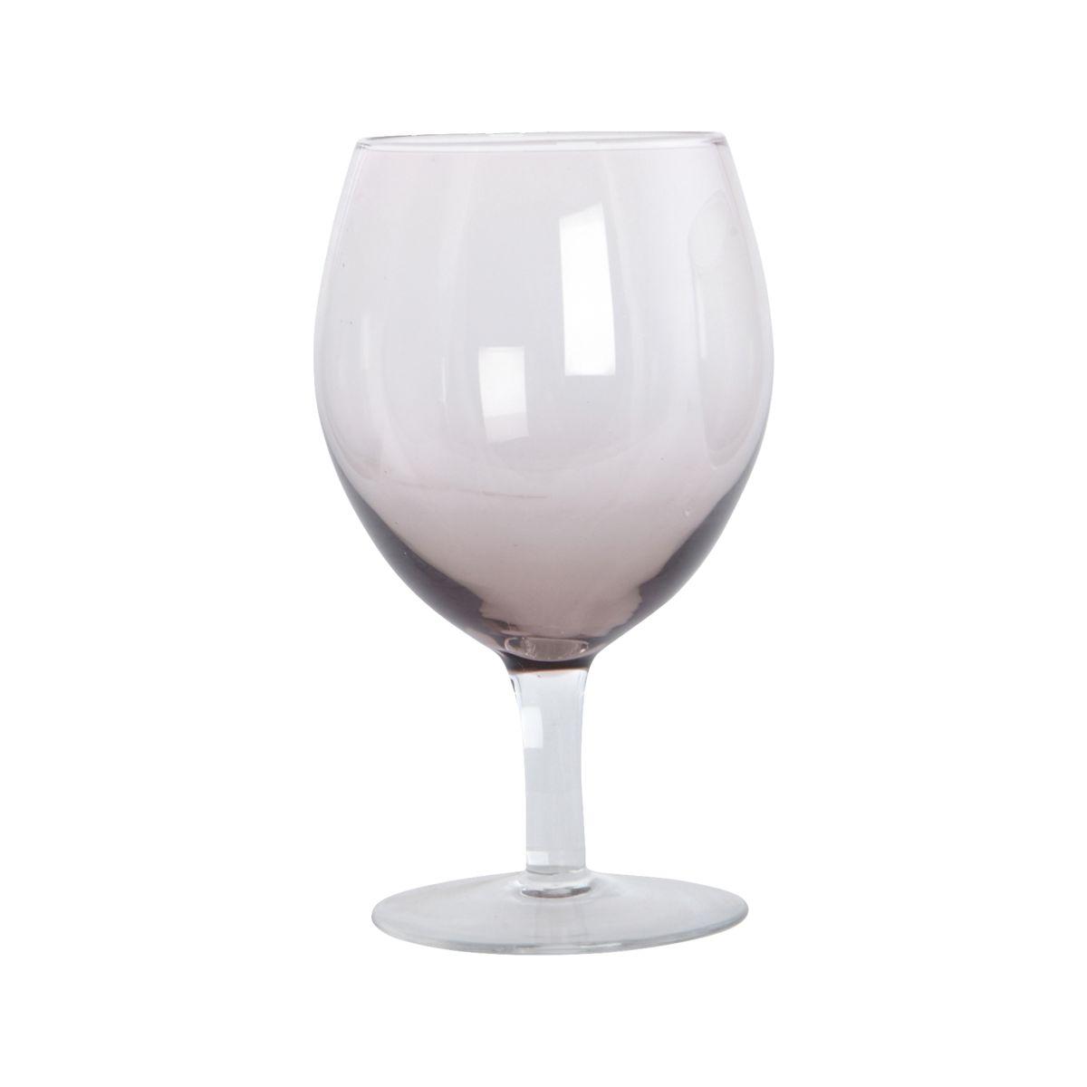 House Doctor - Ball Wijnglas - Set van 4 - Paars