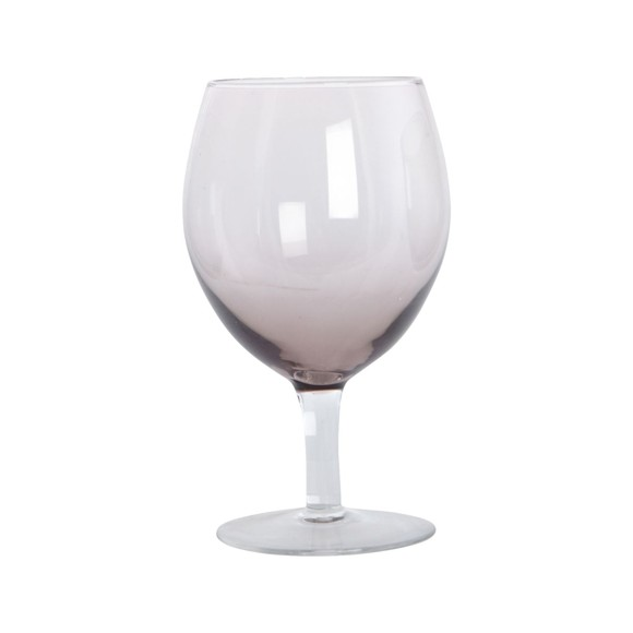 House Doctor - Ball Wine Glass Set of 4 - Purple (Be0490)