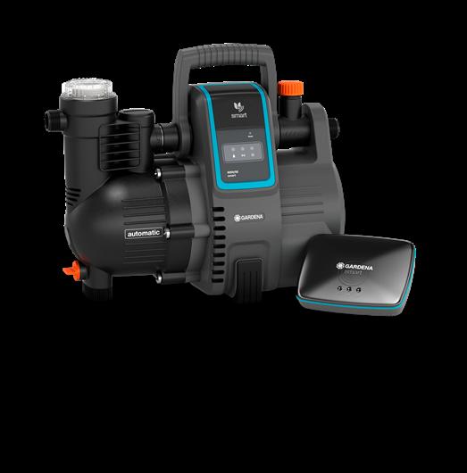 Gardena - Smart Automatic Home&Garden Pump 5000/5 Set - inclusive Gateway