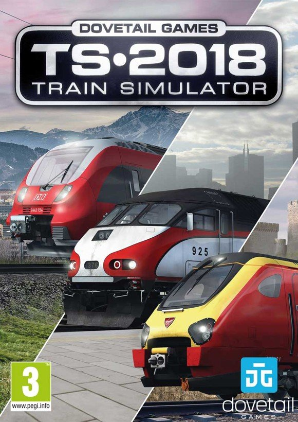 Train Simulator 2018 (Code via Email)