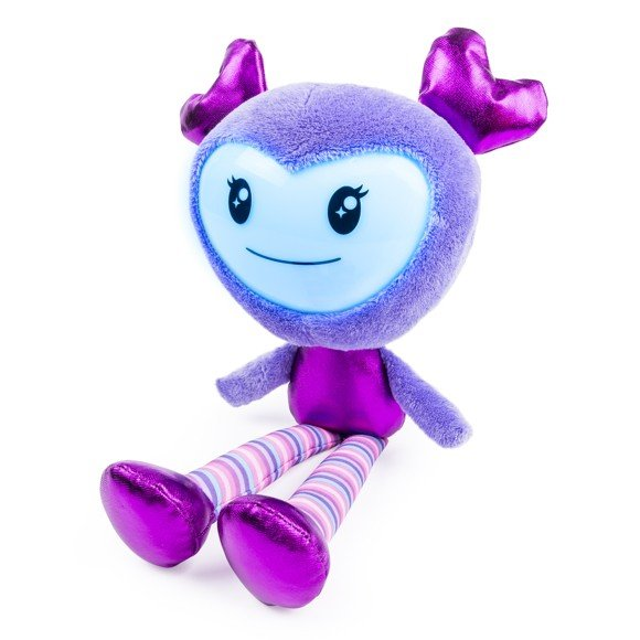 Brightlings - Interactive Singing Plush - Purple (danish)