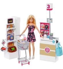 Barbie - Supermarked Sæt (FRP01)