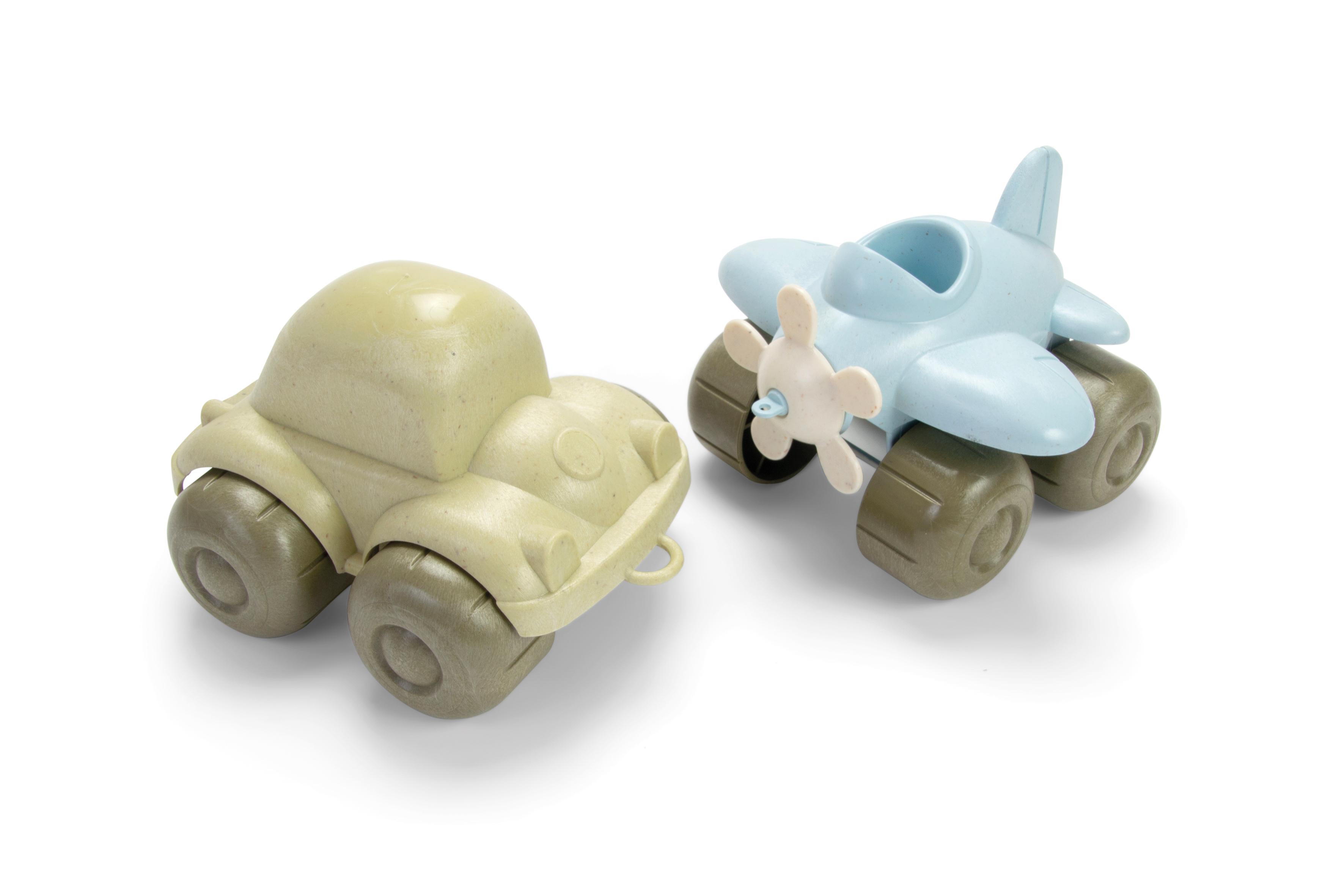 Dantoy - BIOPlast - Vehicles - Car & Plane (5625B)