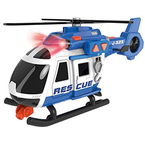 Teamsterz - Light And Sound Rescue Helicopter (1416844)