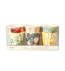 Rice - Melamine Cups 6 Pcs Small - Assorted Happy 21st