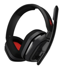 Astro - A10 Gaming Headset PC Grå/Rød