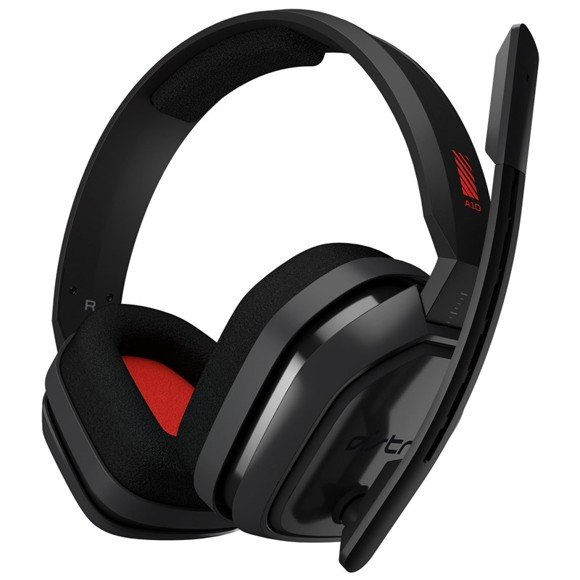 Astro - A10 Gaming Headset PC Grey/Red