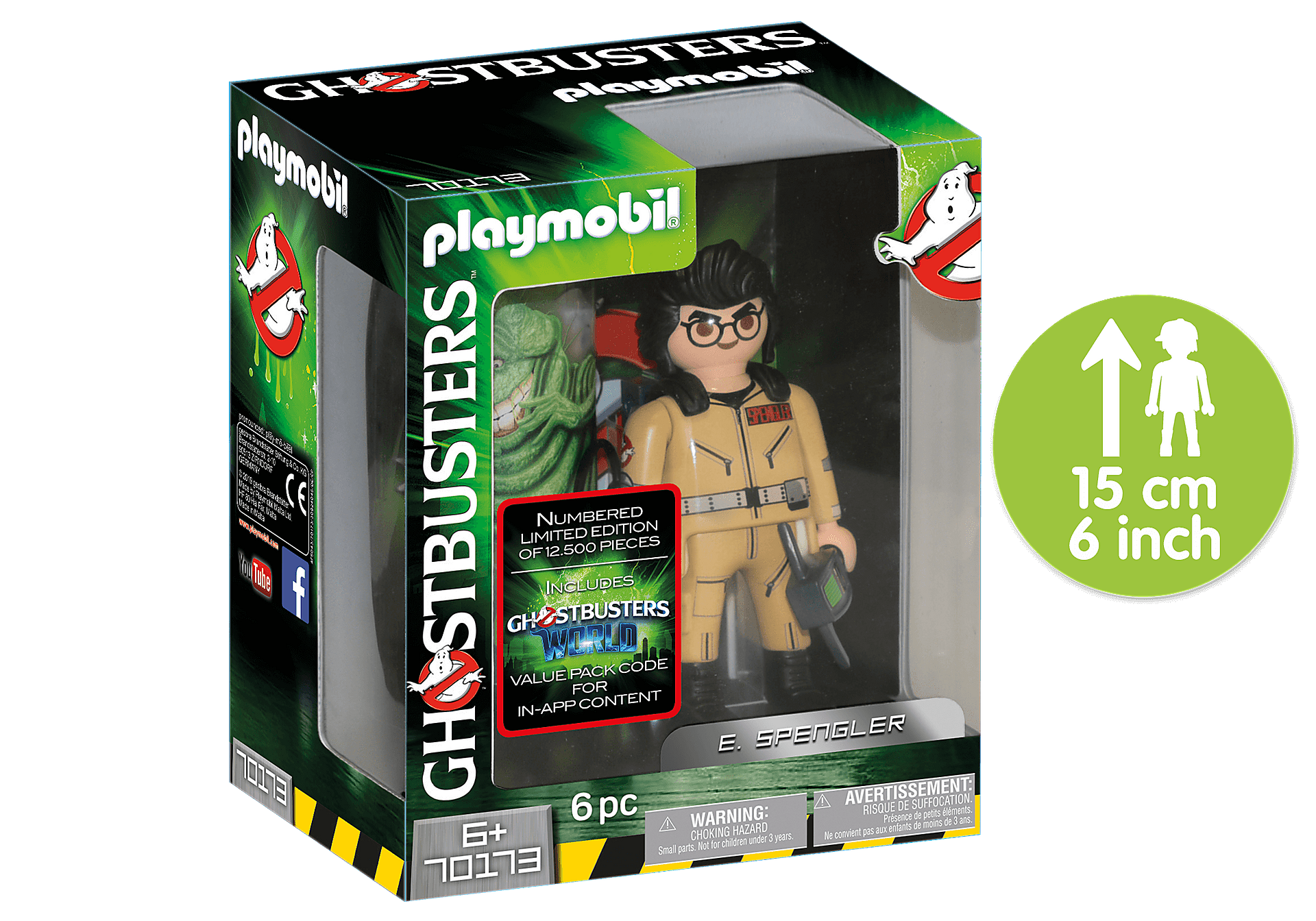 Playmobil - Ghostbusters TM Collection Figure E. Spengler (70173)