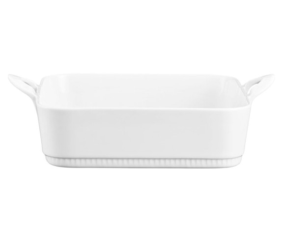 Pillivuyt - Toulouse Dish Rectangular Medium 24 x 29 cm - White (221729)
