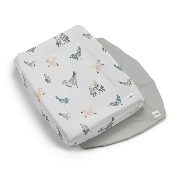 Elodie Details - Changing Pad Covers - Feathered Friends