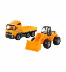 Wader - Volvo Lastbil med Dumper (519899)