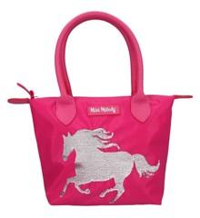 Miss Melody - Håndtaske m/Pailletter - Pink