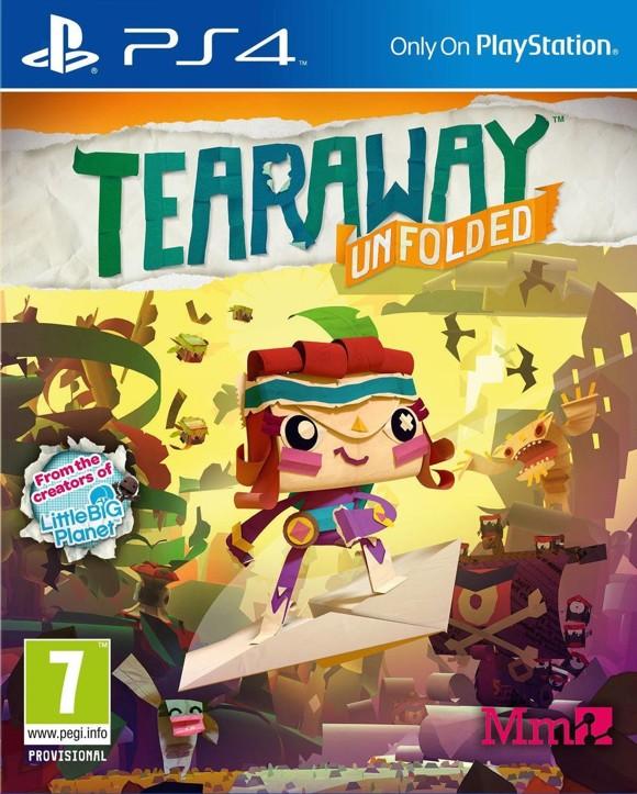 Tearaway Unfolded (Playstation 4)