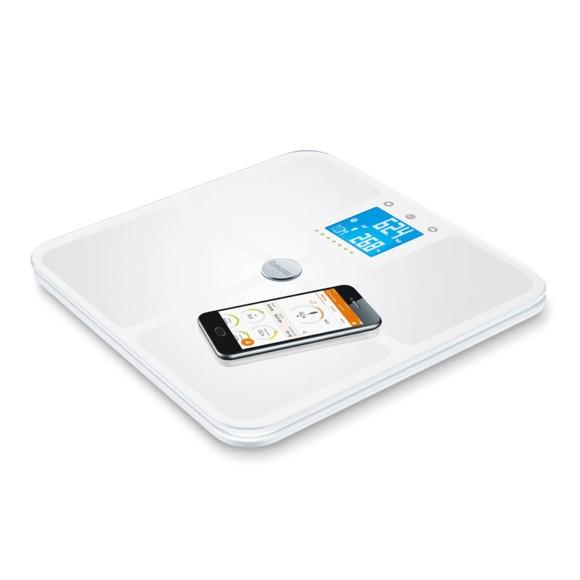 Beurer - BF 950 Hvid Kropsanalysevægt - Bluetooth - 5 Års Garanti
